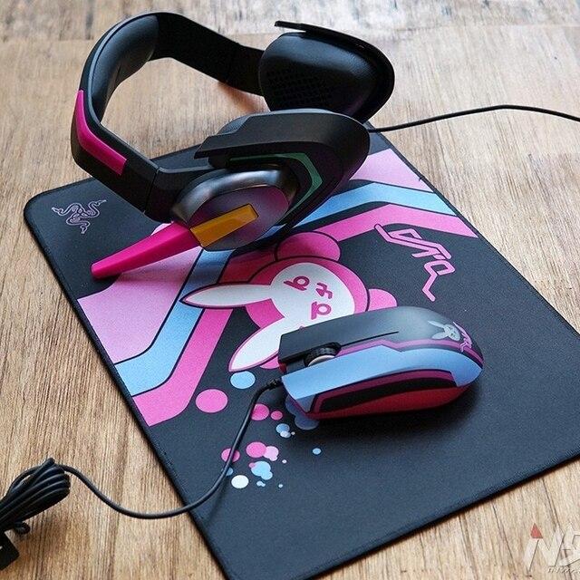 2018 Razer D.Va MEKA Analog Gaming Headset Watch Over Dva Headphone ABYSSUS GOLIATHUS Cosplay Prop