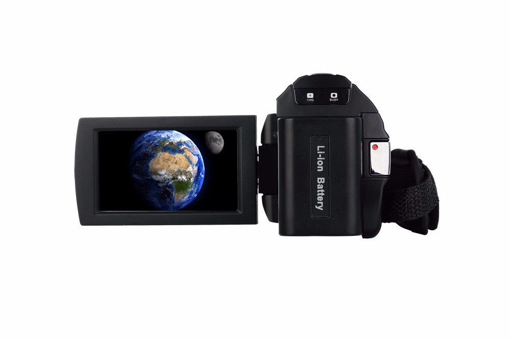 """Marvie 1080p 30fps filmadora Video Recorder 24MP 16X Anti-shake Macro Portable Camcorder 3"""" Touch Screen HDMI out Video Camera 6"""
