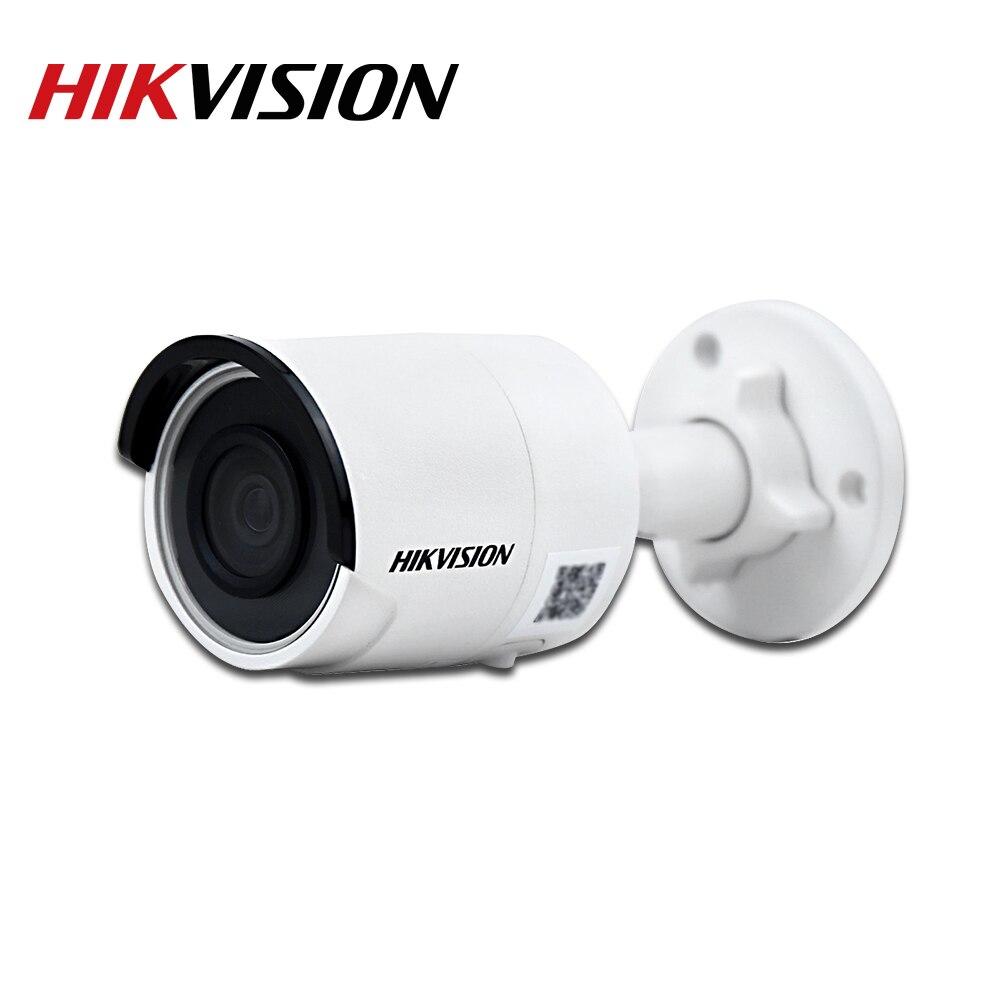 HIKVISION oryginalna DS-2CD2045FWD-I 4MP IR stała kula kamera sieciowa POE wideo sieciowe kamera do obserwacji zasilana przez Darkfighter