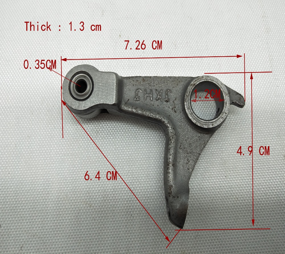 A63 Engine Spare <font><b>Parts</b></font> Motorcycle Swing Rocker Arm For Suzuki CG125 Lower Arm Motor Rocker Arm <font><b>CG</b></font> <font><b>125</b></font> Silent Lower Rocker image
