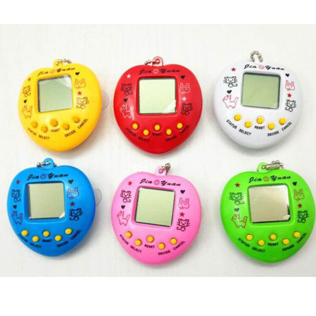 Lovely Rabbit Tamagotchi Electronic Pets Toys 90S Nostalgic 49 Pets in One Virtual Cyber Pet Toy Funny Color Drop shipping
