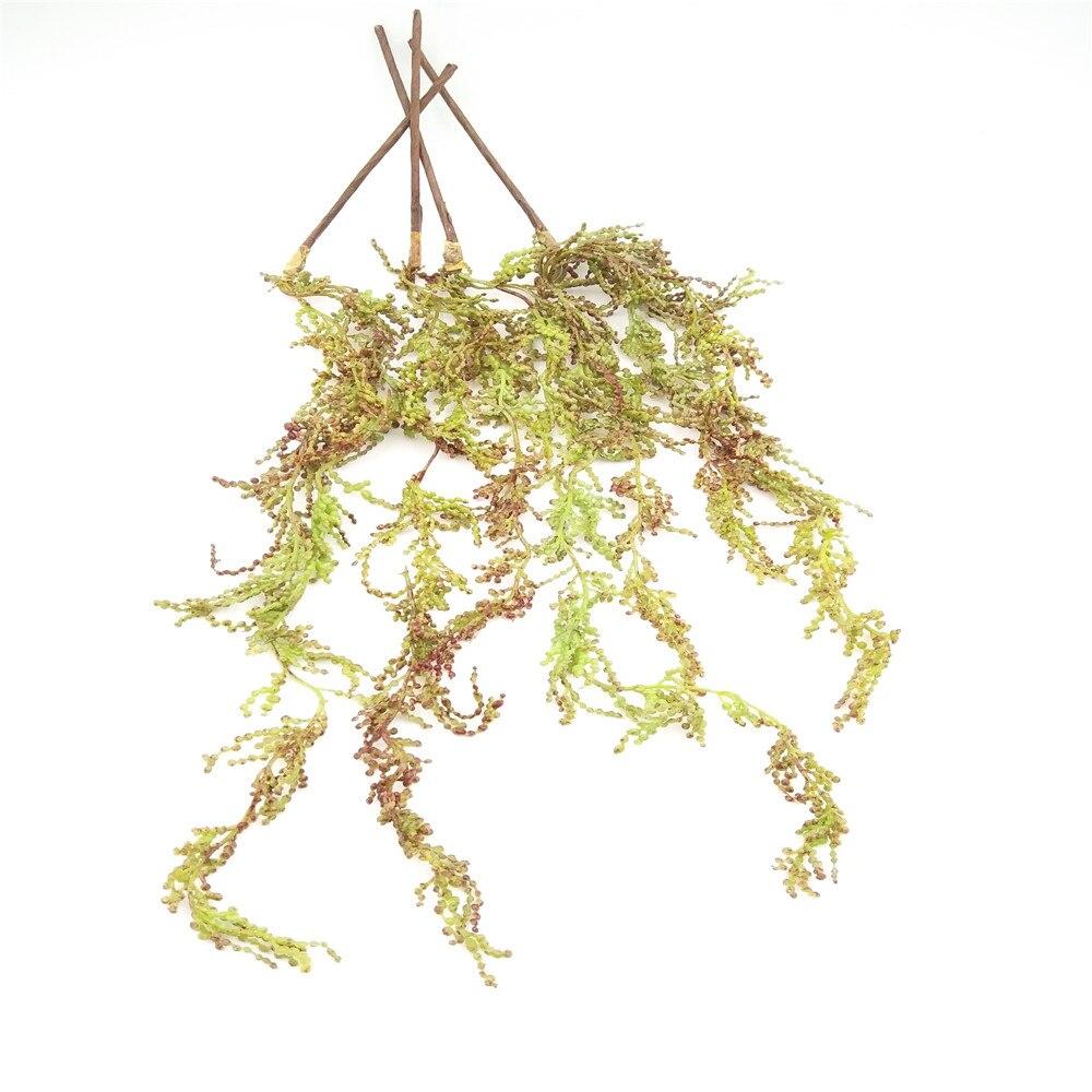 5pcs Soft Plastic Artificial Hanging Pip Berry Plant Garland Wedding ...