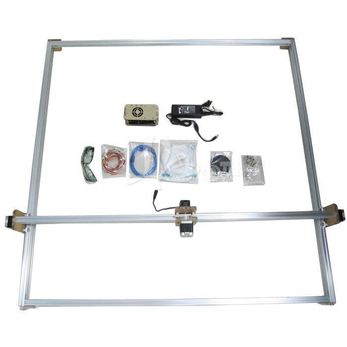 Russia no tax 500MW Desktop DIY Violet LY M1 Laser Engraving Machine Printer - 4