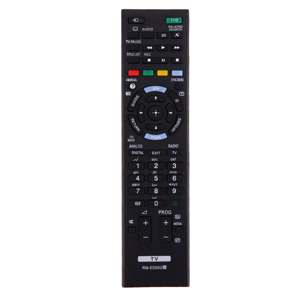 Remote Control Replacement TV controller TV remote for Sony RM-ED052 RM-ED050 RM-ED053 RM-ED060 RM-ED046 RM-ED044 genuine hongdak rm s1am 1 2 lcd wired remote control camera timer for sony alpha dslr a100 more