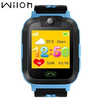 ساعات للأطفال بنظام تتبع جي بي إس 3G WCDMA بشاشة 1.4 بوصة تعمل باللمس وكاميرا SOS لإجراء المكالمات ساعة ذكية للأطفال تعمل بالواي فاي وبطاقة SIM TD07S