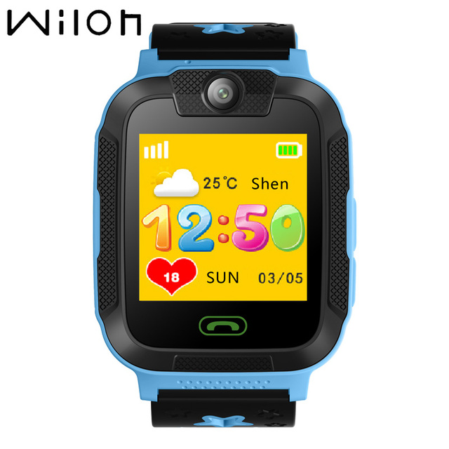 "Kids watches GPS tracker 3G WCDMA 1.4"" touch Screen Camera SOS Call Location WIF"