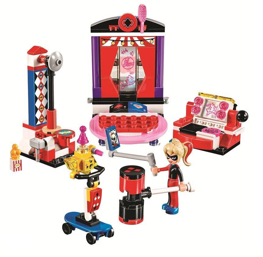Бела 10688 178 шт. DC супер герой девушки Wonder Woman Набор строительных блоков Кирпичи совместимы Legoings Wonder Woman игрушки модель подарки