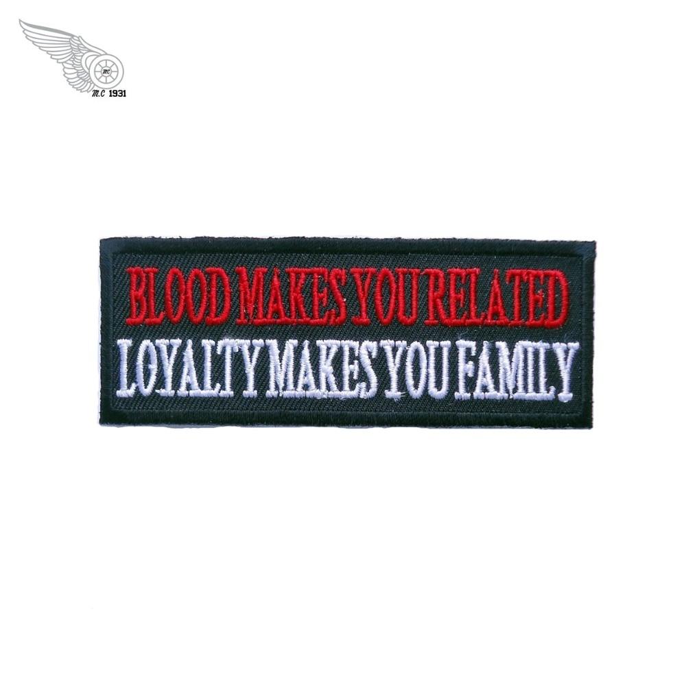 Patch Squad Men's <font><b>Blood</b></font> <font><b>Makes</b></font> <font><b>You</b></font> <font><b>Related</b></font> <font><b>Loyalty</b></font> <font><b>Makes</b></font> <font><b>You</b></font> <font><b>Family</b></font> Patch military stickers free shipping