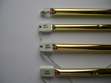 1500 Вт 550 мм 18 мм диаметр половина золота пальто отопителя