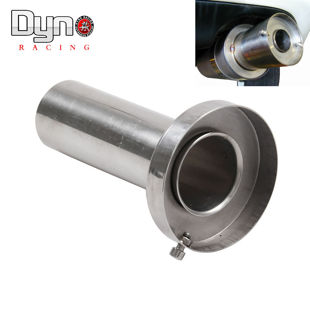 Universal Round Exhaust Muffler Tip Removable Sound Silencer 4.5 inch