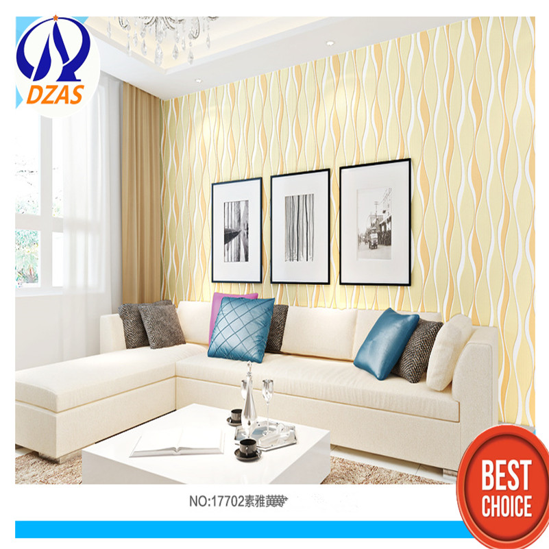 Modern simple nonwoven wallpaper wave curve fringe thickening stereo bedroom living room TV background  DZAS-CCH wallpaper modern simple wallpaper fashion grain pattern nonwoven nonwoven 3d mural wallpaper tv sofa bedroom background wallpaper