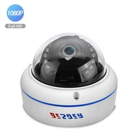 BESDER Full HD 1080P IP Camera 2.8mm wide angle Vandal Proof Metal Case 2MP Home Security Camera CCTV Onvif P2P RTSP XMEye Surveillance Cameras