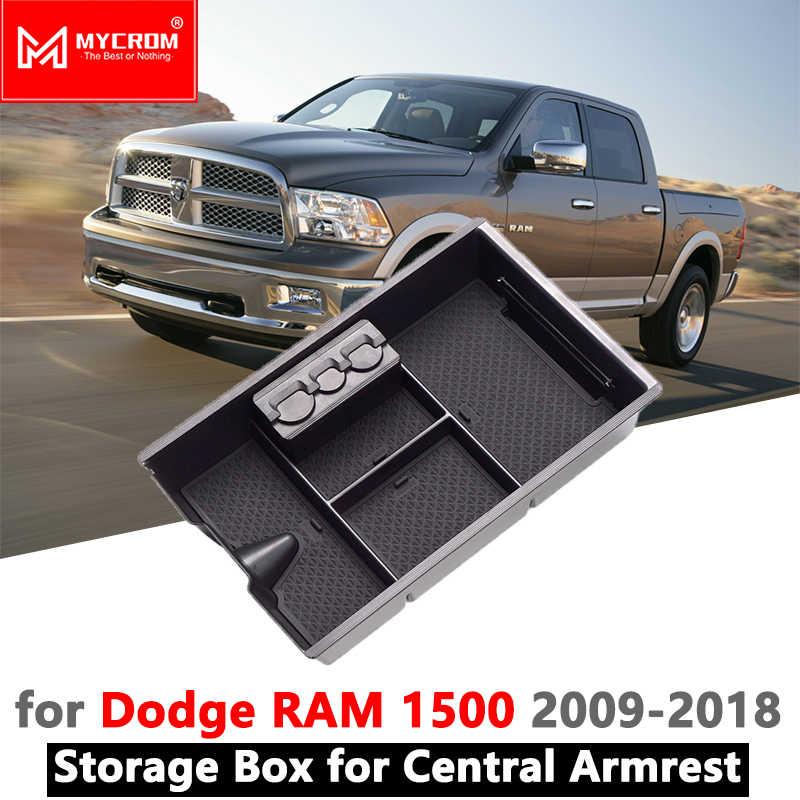Armrest Box Storage Car Organizer Accessories For Dodge Ram