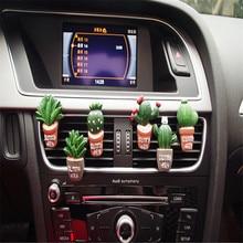 AutoEC 1X Автомобильный Освежитель Воздуха Растения духи вентиляционное отверстие Выход Кондиционер аромат клип милые творческие украшения# LQ955