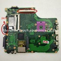 Para toshiba satellite pro a300 placa madre del ordenador portátil con ranura para gráficos pt10g-6050a2171501-mb-a03 v000126230 sata dvd