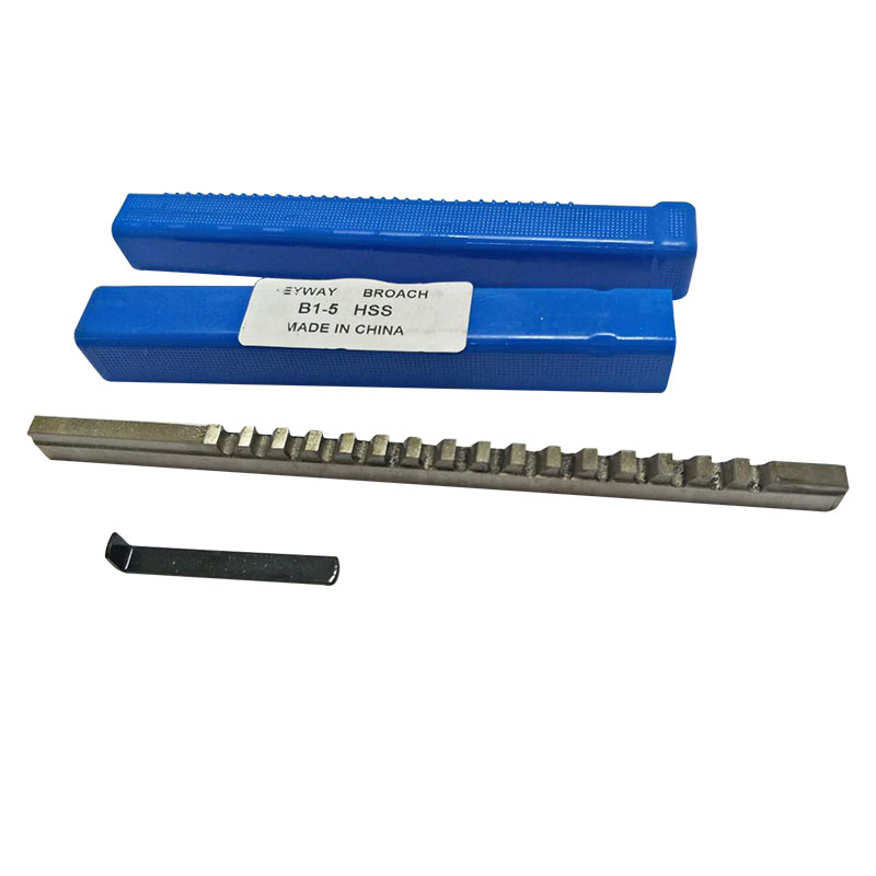 5mm B1 Push-Type Keyway Broache Metric Size HSS Keyway Cutting Tool for Router Metalworking5mm B1 Push-Type Keyway Broache Metric Size HSS Keyway Cutting Tool for Router Metalworking