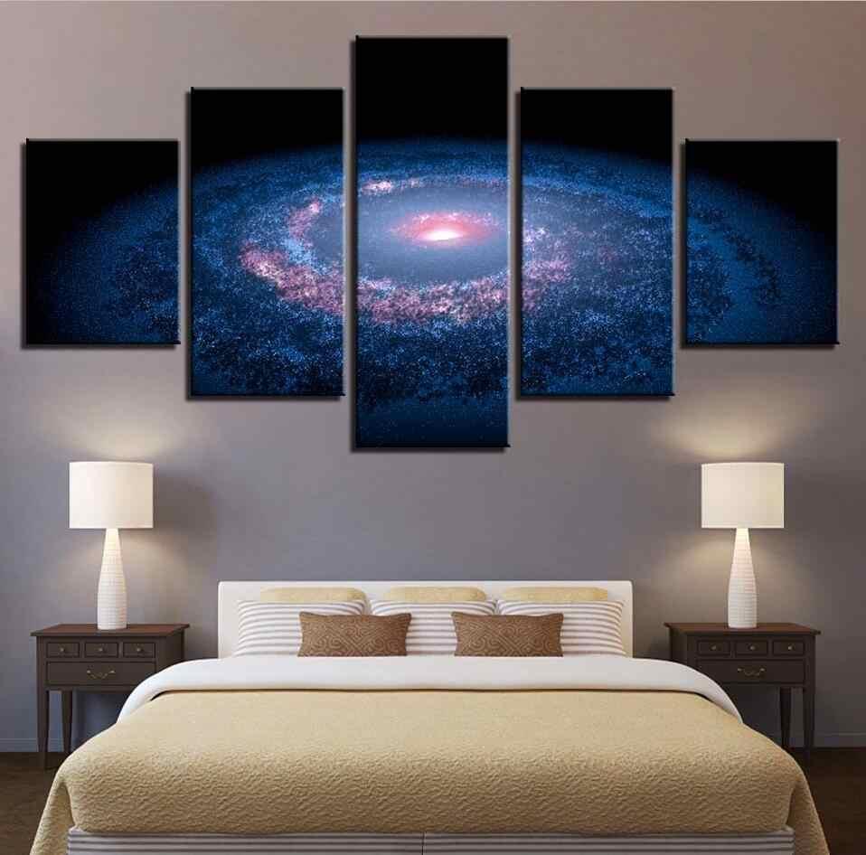Художественное оформление стен изображения с печатью высокого разрешения 5 шт.