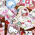 46 Pçs/lote DIY Olá Kitty Etiqueta Para Quartos Dos Miúdos Home Decor Diário Notebook Etiqueta Decoração Brinquedo Pikachu Adesivo 3D