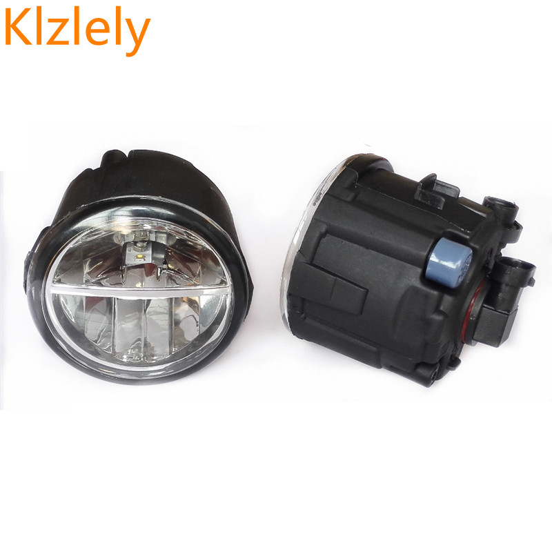 For NISSAN Note E11 Murano Z51 Juke PATROL 3 III Y62 2006-2015 Car Styling LED Fog Lights Front Bumper Fog Lamps 1set 1 set left right car styling front led fog lamps fog lights 26150 8990b for nissan patrol 3 iii y62 2010 2015