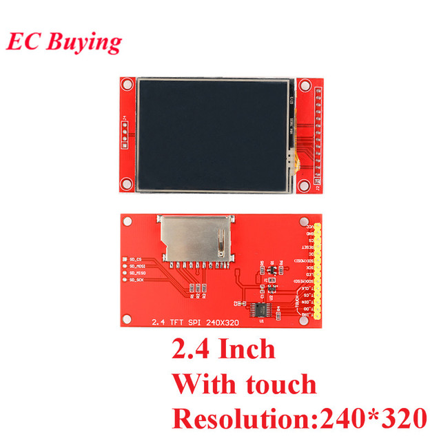 1.44/1.8/2.0/2.2/2.4/2.8 Inch TFT Color Screen LCD Display Module Drive ST7735 ILI9225 ILI9341 Interface SPI 128*128 240*320 4