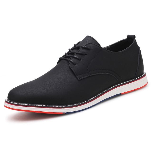 אביב 2018 גברים של נעלי mucosum ךטה אנגלית סגנון של נעלי גברים יהיה להיות מוגבר על ידי נעלי גברים