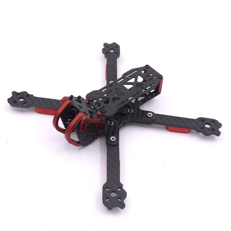 Dragon HX5 X5 220mm 5 inch FPV Racing Frame Kit RC Drone 4mm Arm Carbon Fiber For RC Multirotor Models Motor ESC Spare Parts realacc kt100 100mm carbon fiber frame kit for rc quadcopter multirotor fpv camera drone x type frame accessories purple