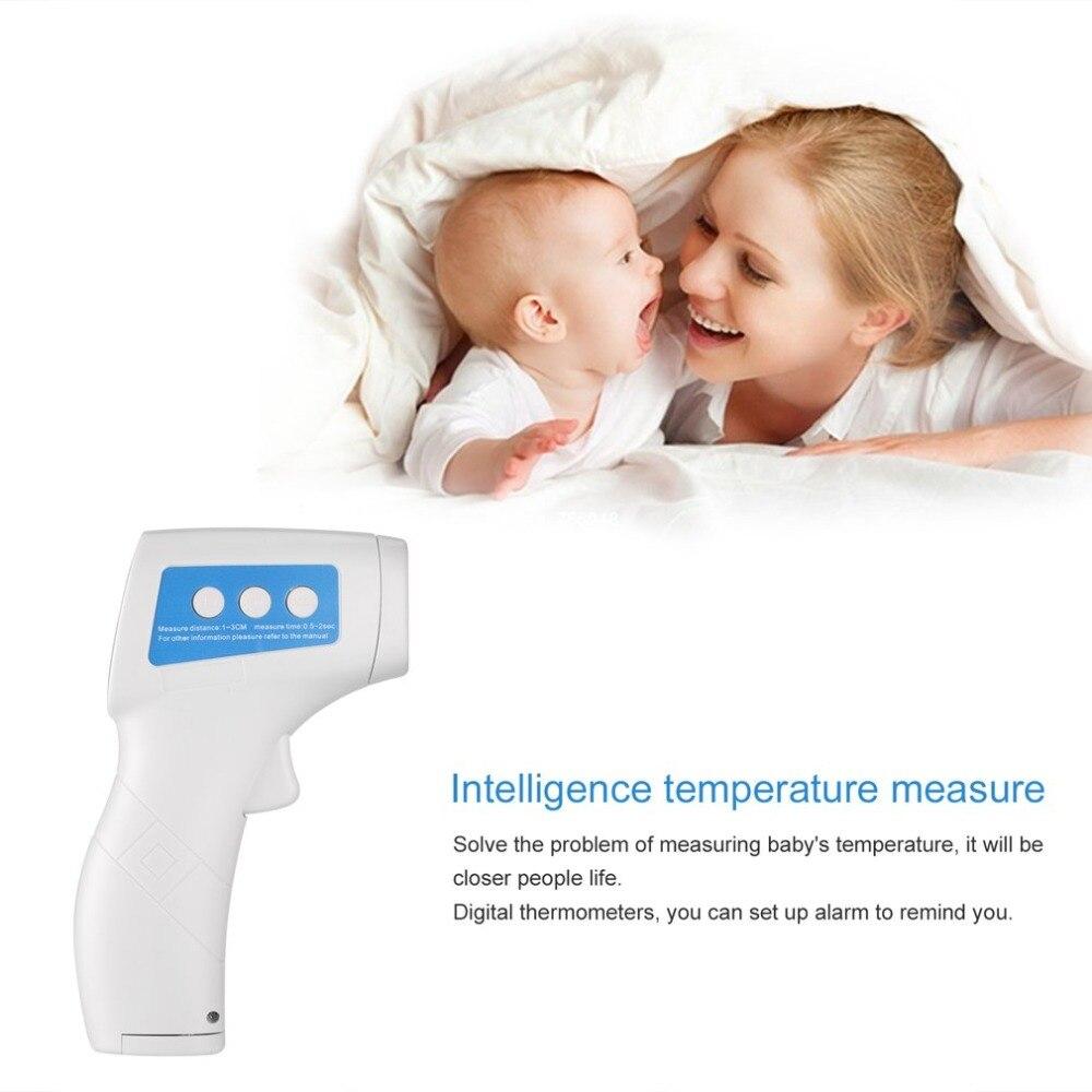 Termometro de Não-Contato Digital Laser Infravermelho IR Termômetro Higrômetro Display LCD Termostato controlador de Medidor de Temperatura Do Corpo
