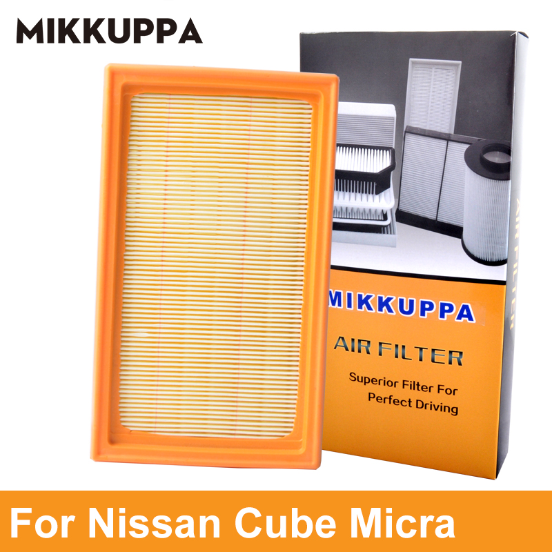 Mikkuppa Air Filter For Nissan Cube Micra Note NV200 Q70 Qashqai QX70 Tiida Car Auto Accessories OEM 16546-ED500