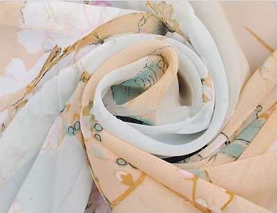 Fashion Chiffon Women   Scarf   Neck Shawl Printed   Scarves     Wrap   Stole Warm Gift Hot Sales