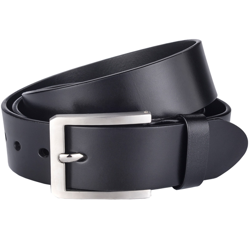 YIMUHUADAO Casual top genuine leather belts for men black jeans strap male luxury brand designer belt high quality pin buckle
