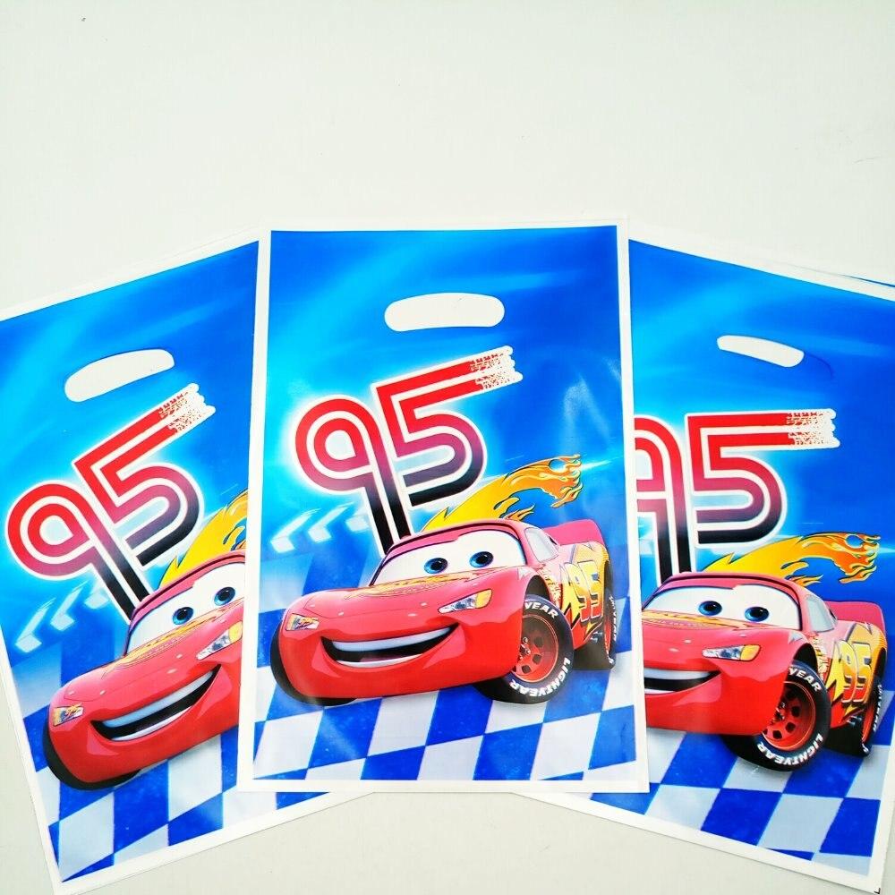 10 unids 95 coche bolsa de regalo del caramelo/bolso del botín del partido del t