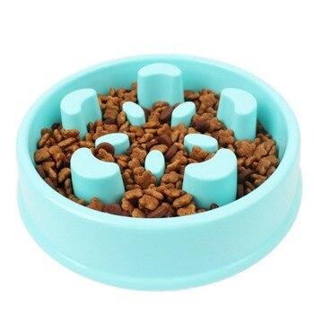 Питатель для домашних животных миска для собак медленное питание блоат стоп пищевая тарелка лабиринт Интерактивная Головоломка Кошка Прот...