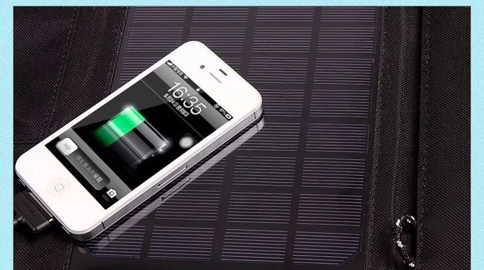 Cellphone solar panel charger