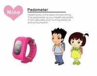 어린이 키즈 트래커 위치 시계 스마트 폰 시계 노인 어린이 위치 트랙