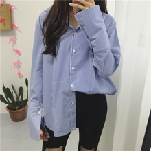NiceMix 2019 women tops and blouse long sleeve solid shirt cotton womens clotthing korean fashion ladies office new