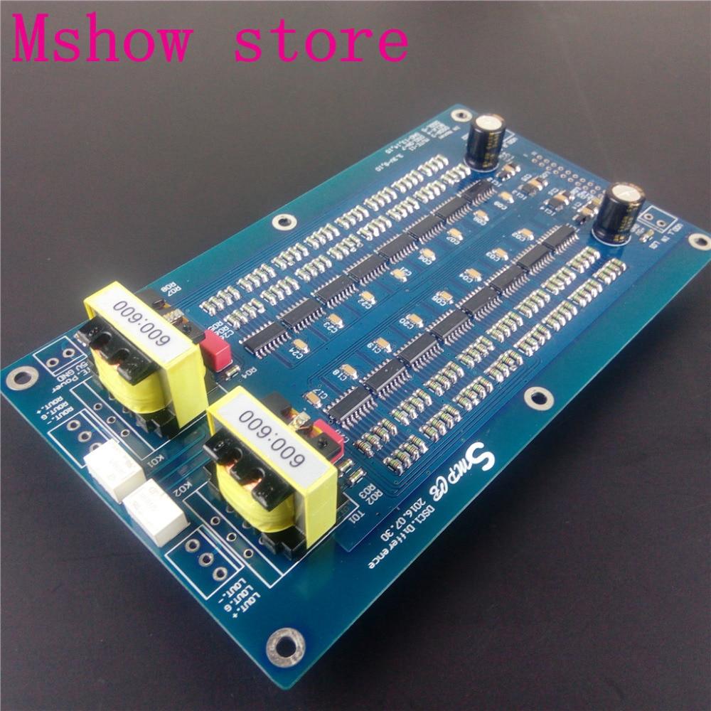 bilder für Mshow Differential DSC1 DAC decoder DSD Kompatibel mit Gend Amanero oder XMOS usb hohe qualität Für hifi audio Bestückte platine