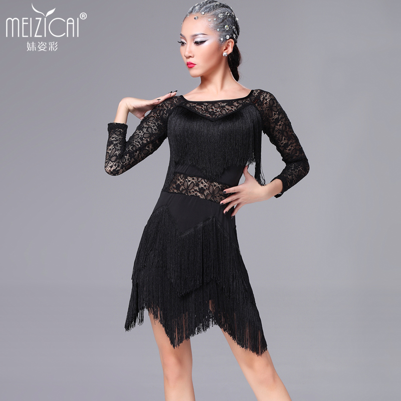 New Latin dance costumes women tango salsa rumba modern dance dress latin dancing clothes Dancewear LY7036