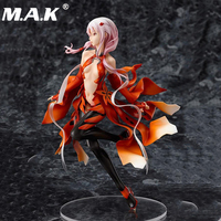 17cm Sexy Japanese Anime Action Figures Guilty Crown Inori Yuzuriha PVC Figure Dolls Gifts Toys Displays for Collectible Model