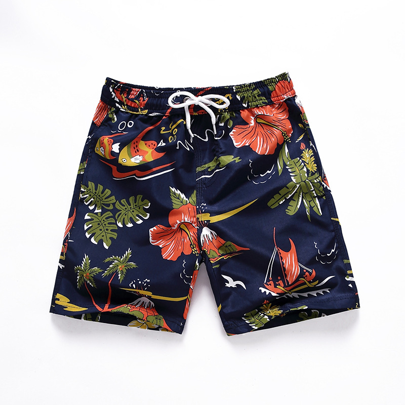 PPXX Summer Boy Shorts Beach Swimming Shorts Fast Dry Baby Boys Shorts Children Kids Pants Swimwear Trunk Teenage Plus Size