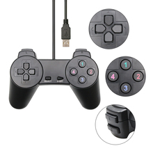 Black Wired Gamepad USB 2.0 Joystick Controller Joypad Controle For PC Laptop Computer For PC Laptop Computer For win7/8/10