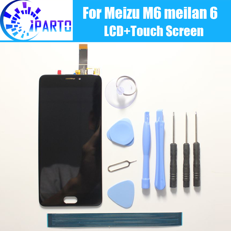 For <font><b>Meizu</b></font> <font><b>M6</b></font> <font><b>LCD</b></font> Display Screen+Touch Digitizer 100% Guarantee Original Screen Replacement For <font><b>Meizu</b></font> <font><b>M6</b></font> Meilan 6+Tools image
