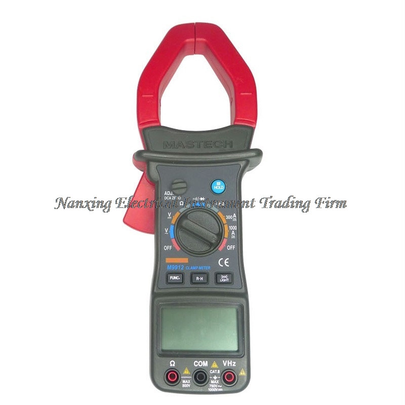 MASTECH MS9912 Digital Clamp Meter Auto Range 3200 Counts Digital AC DC Clamp Meter Voltage Current Resistance Frequency Tester mastech my68 handheld lcd auto manual range dmm digital multimeter dc ac voltage current ohm capacitance frequency meter