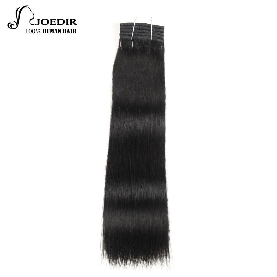 Human Hair Weaves Constructive Joedir Straight Hair Bundles 1 Piece Only Remy Hair 113g Brazilian Hair Weave Bundles Human Hair Weaving Free Shipping Modern And Elegant In Fashion