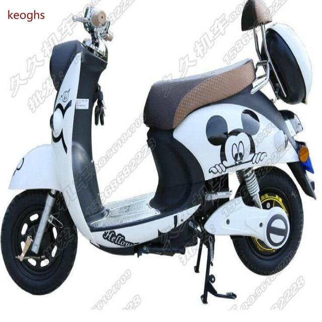Us 190 Cartoon Muster Pvc Wasserdicht Aufkleber Moto Motorrad Aufkleber Roller Aufkleber Ganzen Körper Kühlen Dekoration Mit Kleber In