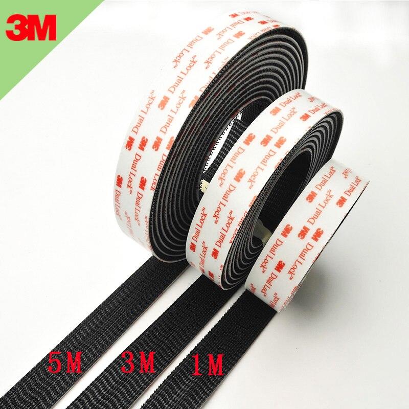 length choose 3M SJ3550 DUAL LOCK VHB ADHESIVE Width 1 inch Accept customize