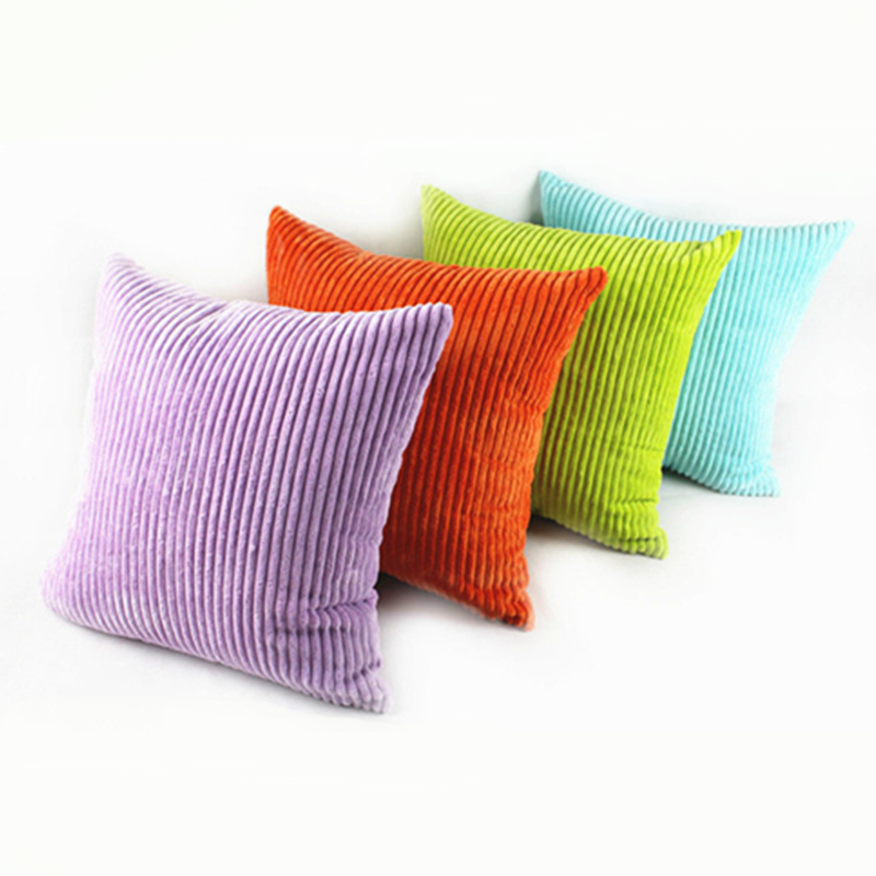 Stripe Sofa Home Cinema Sofas Fashion Promotion Soft Corduroy Plush Pure Colorful ...