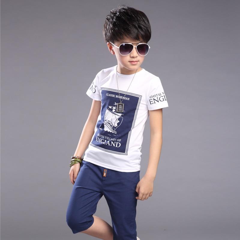 Buy Kids Boys Clothes Summer Suit 2016