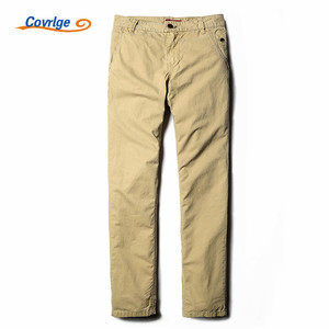 Covrlge Pants Men Militar Men's Sweatpants 100% Cotton Brand-Clothing Khaki Overalls for Men Male Cargo Trousers Pants MKX011