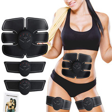 Abdominal Muscle Trainer Electronic Muscle Eexercise Electrostimulator Workout Machine Body Slimming Shaper Fitness Equipments