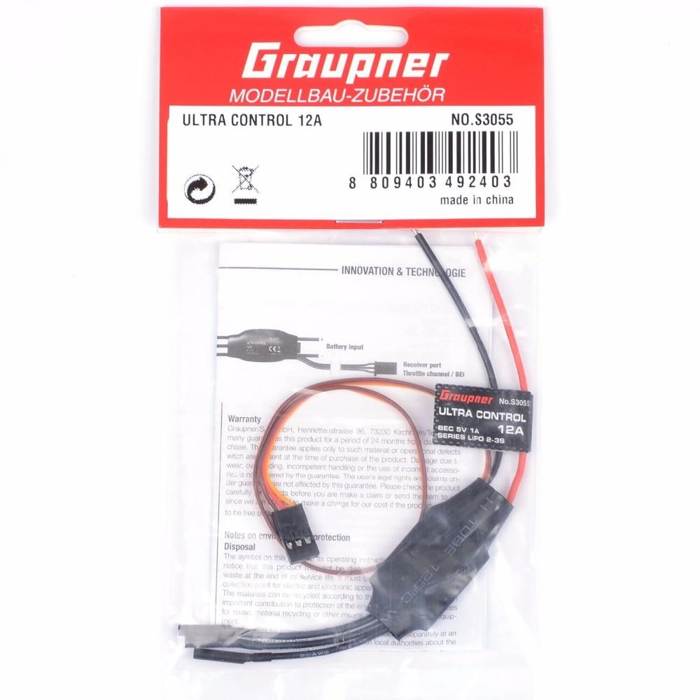 Graupner ULTRA CONTROL 12A ESC ALPHA 250 alpha hydrox 12% 340g